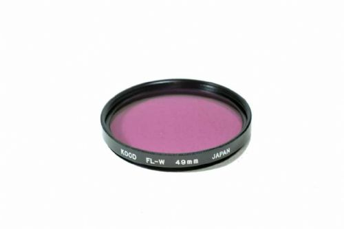 High Quality Optical Glass FLW Filter Made in Japan 49mm Kood